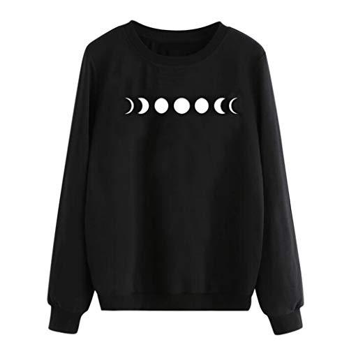 ❣❥HebeTop❥❣ 2019 New!!Ladies Printed Pullover Tops Blouse,Women Long Sleeve Hoodie Sweatshirt Jumper