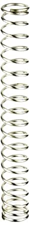 """Silver-Coated Beryllium Copper Compression Spring .393"""" OD x .036"""" Wire Size x 3.200"""" Free Length (Pack of 10)"""