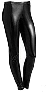 f0a59c3e99b02 Bless Girls Metallic Leggings Wet Look FOIL American 4-13 Years Shiny Kids  Childrens…