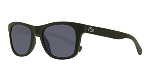 Lacoste L790s Rectangular Sunglasses, Matte Khaki, 52 - Sunglasses Men's Lacoste