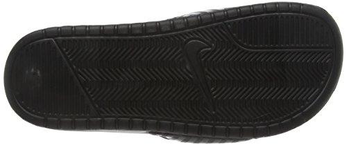 Nike Femme Wmns amp; Piscine Chaussures Negro 011 Noir De Plage Jdi Benassi RRqBwr