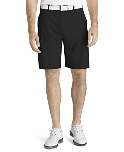 IZOD Men's Golf Swingflex Cargo Short, Black, - Shorts Golf Tall Big And