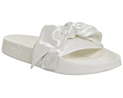 free shipping Puma Women's Bow Slide Wns, MARSHMALLOW-PUMA SILVER