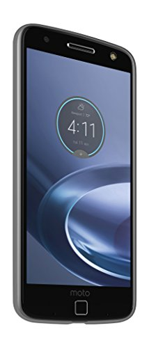 mophie juice pack - Protective Battery Case for Motorola Moto Z (3,000mAh) - Black (Best Moto Z Case)