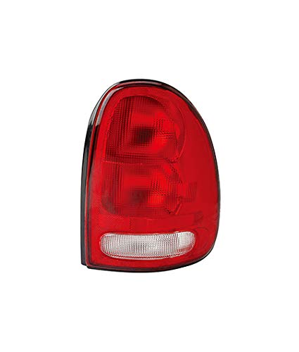 (Fits 1996-2000 Chrysler Town & Country Tail Light Passenger Side Unit CH2801125 - replaces 4576244)