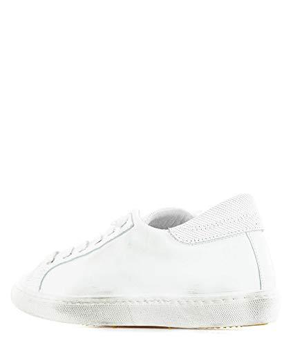 2sd2000 Mujer 2star Cuero Blanco Zapatillas OBX5xq56aw