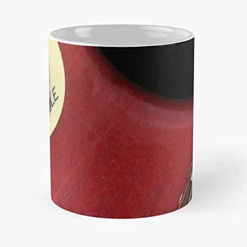 Vintage Electric Guitar Japanese - Best Gift Ceramic Coffee Mugs 11 Oz