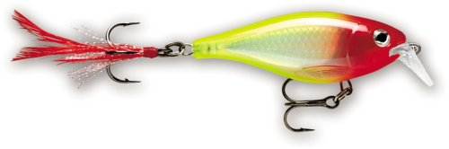 Rapala X-Rap Shad Shallow 06 Fishing lure (Clown, Size- 2.5) (Shallow Runner)