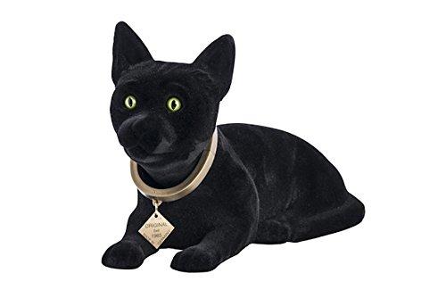 Wackel Figur Katze schwarz bobblehead