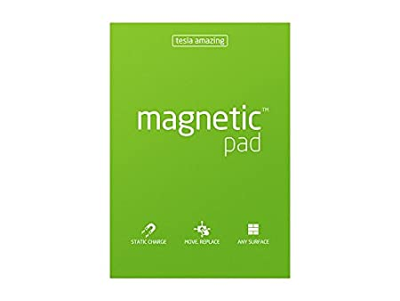 Tesla Amazing Magnetic Notes aderisce a ogni superficie Yellow Blocco note magnetico Giallo A5
