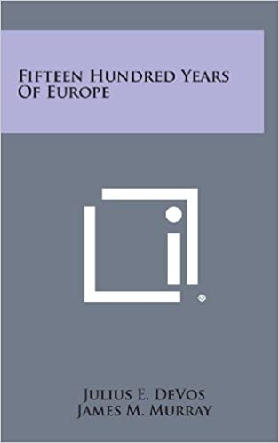 Book Fifteen Hundred Years of Europe