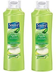 Suave Essentials Juicy Green Apple Extract & Vitamin E Shampoo - 12 oz (PACK of ()