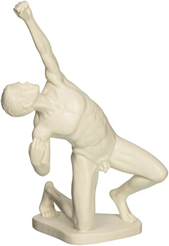 Archer Statue (Design Toscano Nude Archer Bonded Marble Statue)