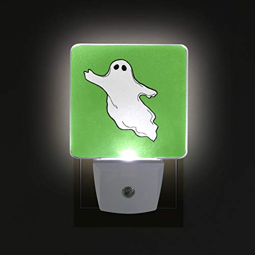 DEYYA Halloween-Photos-Flying-Ghost-Clipart Plug in LED Night Light, Night