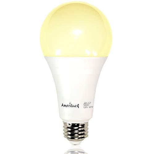 3-Way LED Light Bulb A21, 50-100-150W Equivalent (3000K | Warm White, 1 Pack)