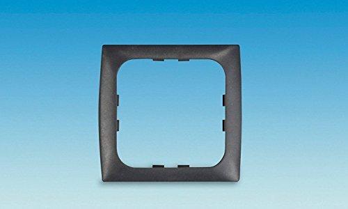 C-line black 1 way face plate