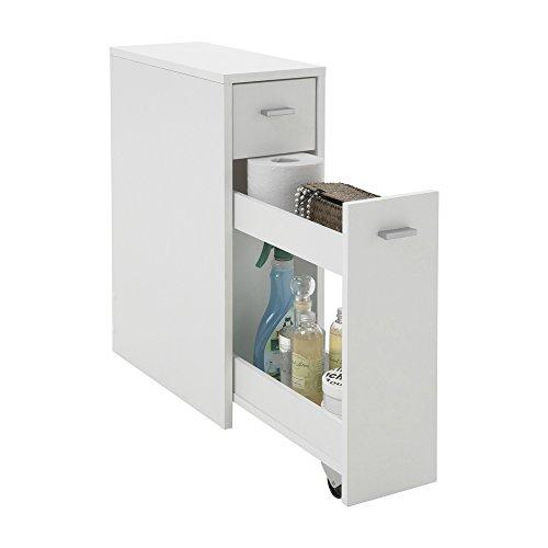FMD Möbel 930-001 Kommode Denia 20 x 61 x 45 cm, weiß