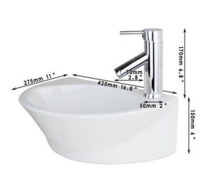 GOWE Single Handle Deck Mount Chrome Basin Faucet Torneira+Bathroom Sink Ceramic WashBasin Sink Faucet Mixer Tap 2