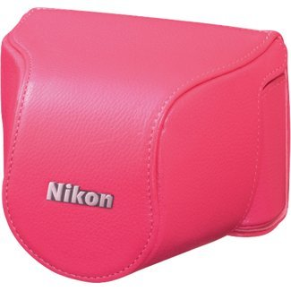 Nikon CB-N2000SD Pink Leather Body Case Set