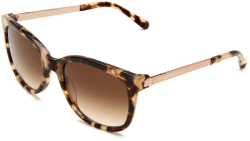 Kate Spade Women's Gaylas Oval Sunglasses,Camel Tortoise Frame/Brown Gradient Lens,One - Gradient Lenses What Are
