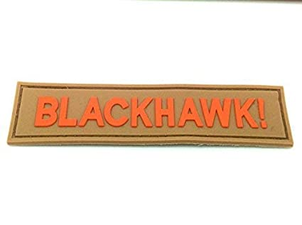 Black Hawk largo Airsoft Velcro PVC Parche: Amazon.es: Deportes y ...