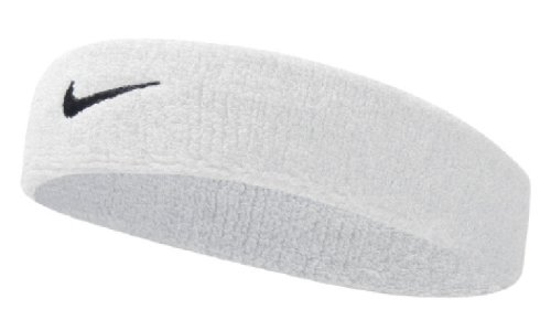 Nike Swoosh Headband (White/Black,