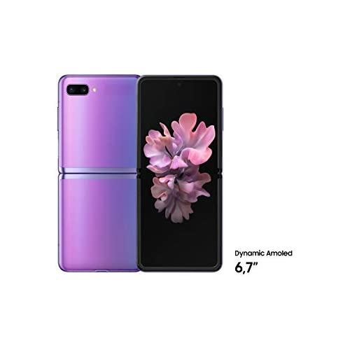 chollos oferta descuentos barato SAMSUNG Galaxy Z Flip Lila o2 Libre