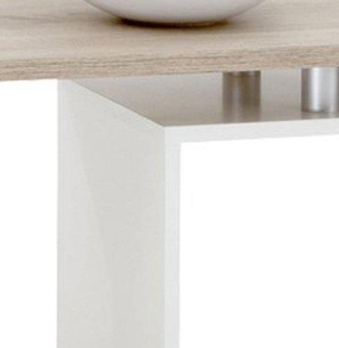 Fmd 001 ei Klara 627 Ouvert Chêne Compartiment Table Basse Avec Un WIY9EDH2
