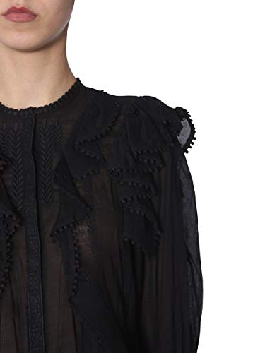 Marant Ht133319p023e01bk Donna Nero Cotone Blusa Étoile Isabel FSdnRWpqp