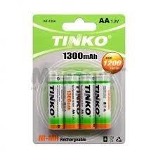 4/pilas AA 1300/mAh bater/ía recargable NiMH HR6/LR6/hx8/a