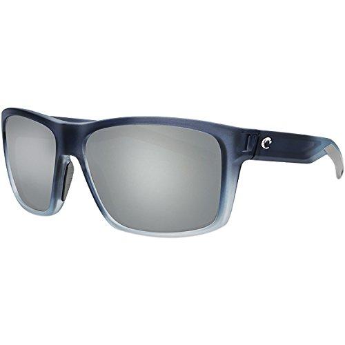 Costa Del Mar SLT193OSGGLP Slack Tide Gray Silver Mirror 580G Bahama Blue Fade Frame ()