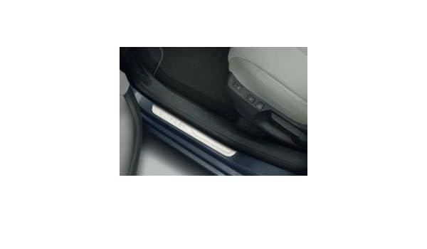 Citroen - Juego de 4 protectores de umbral de puertas delantera y trasera de acero inoxidable: Amazon.es: Juguetes y juegos