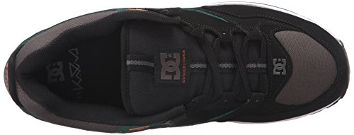 Black Kalis Lite Men's Green Grey Skate Shoe DC wqzXC5
