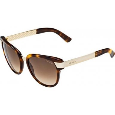 Gucci GG3651/S Sunglasses-0CRX Havana (JD Brown Gradient Lens)-55mm