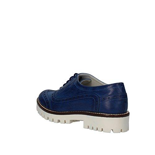 Chaussures Cuir Hb Élégantes Helene Bleu Femme nWww7UZr