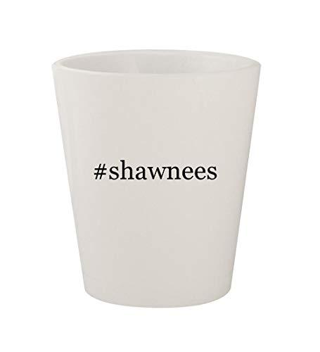 #shawnees - Ceramic White Hashtag 1.5oz Shot Glass ()