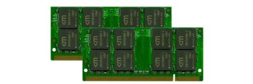 991479 DDR2 SODIMM (2x1GB) 2GB PC2-4200 SODIMM 200p 4-4-4-12 1.8V (Notebook 5602wlmi)
