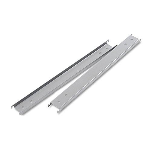 Three Row Hangrails for 42quot; Files, Aluminum by Alera