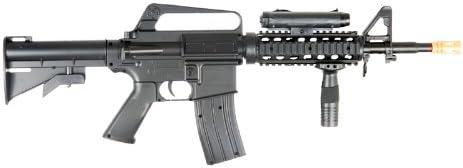 m16-a4 airsoft rifle with led illuminator, laser'sight adjustable gun'stock Airsoft Gun
