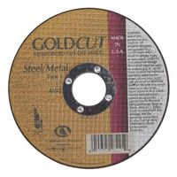Type 1 45 Pack 60 Grit 5 X .045 X 7//8 GoldCut Reinforced Aluminum Oxide Abrasives