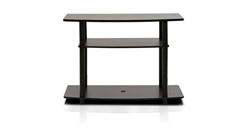 Furinno Turn-N-Tube No-Tools 3-Tier TV Stand for for TVs up to 32