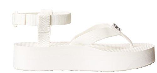 Teva Women's Platform White Sandal Flatform Bright zF8zA