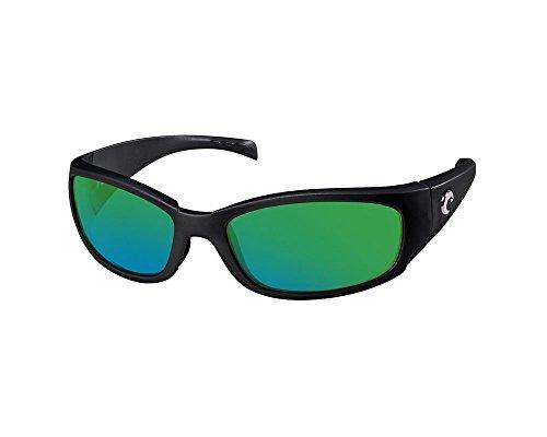 Costa Del Mar Hammerhead Sunglasses Black/Green Mirror - Sunglasses Hammerhead
