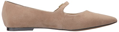 Adrienne Vittadini Calzature Donna Frazier Mary Jane Flat Almond