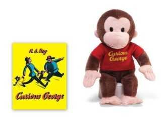Curious George Monkey Plush Stuffed Animal 12