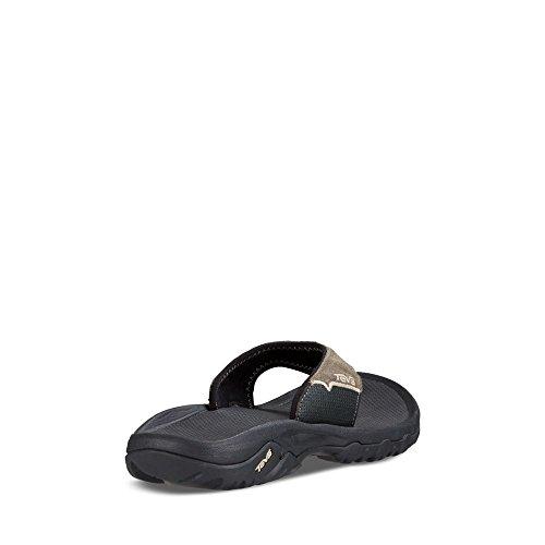 Teva Men's Katavi Thong Outdoor Sandal, Walnut, 9 US