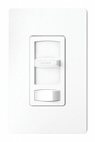 Lutron CTCL-153P-WH Contour CFL/LED Electrical Distribution Product, Small, White, 4 Ounce