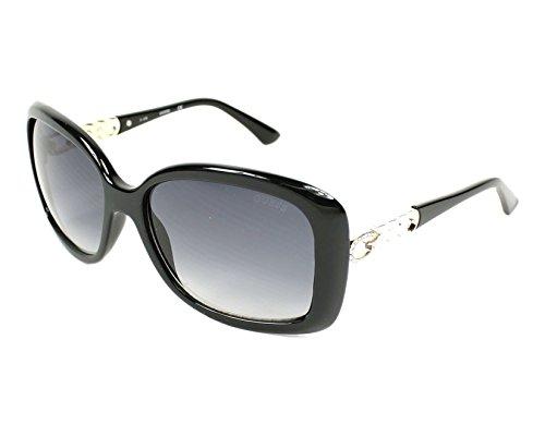 Guess S schwarz Sonnenbrille glanz GU7480 qT64awz