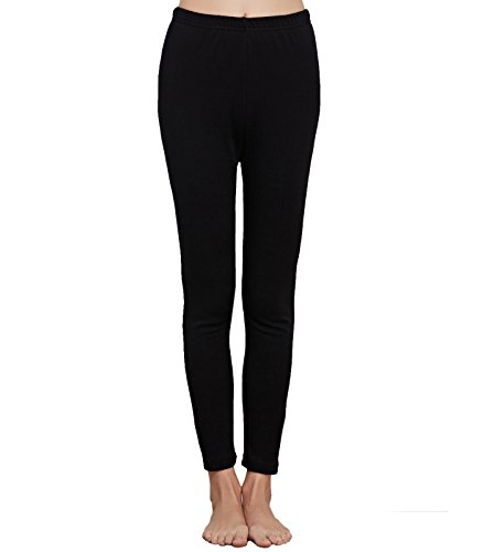 Liang Rou Women's Fleece Lined Thick Thermal Pants