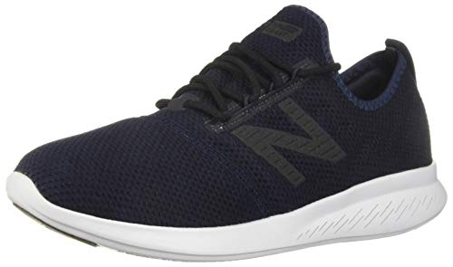 New Balance Men's Coast V4 FuelCore Running Shoe, Light Petrol/Galaxy/Black, 8.5 4E US (La Lights Shoes)
